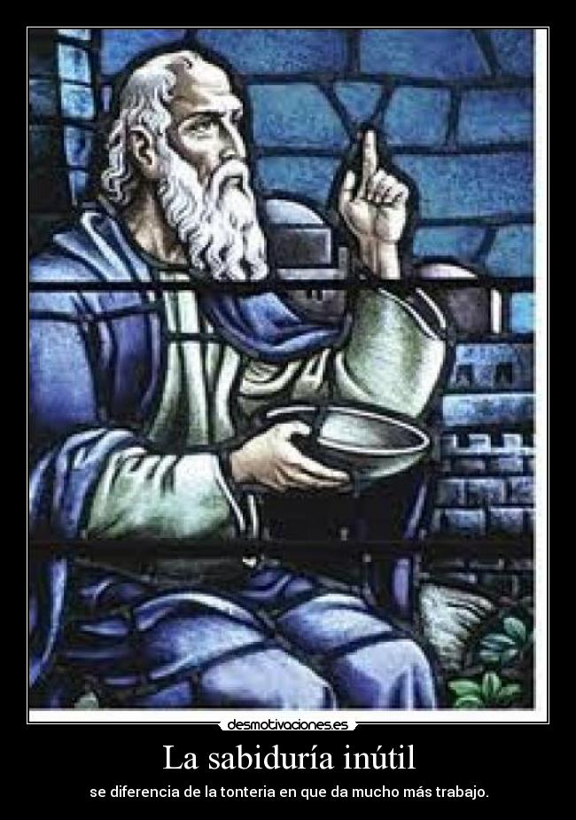 Sabiduría Inutil